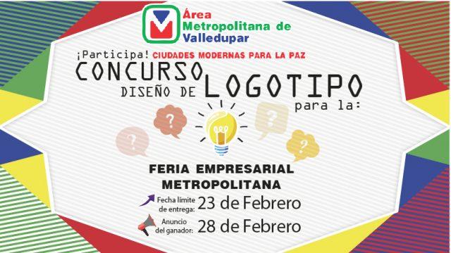 Participa en el diseño del logotipo para la 1ra. Feria Empresarial Metropolitana