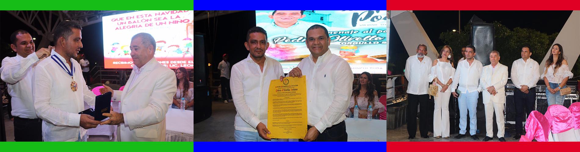 AMV Exalta al Escritor y Poeta Pedro Olivella