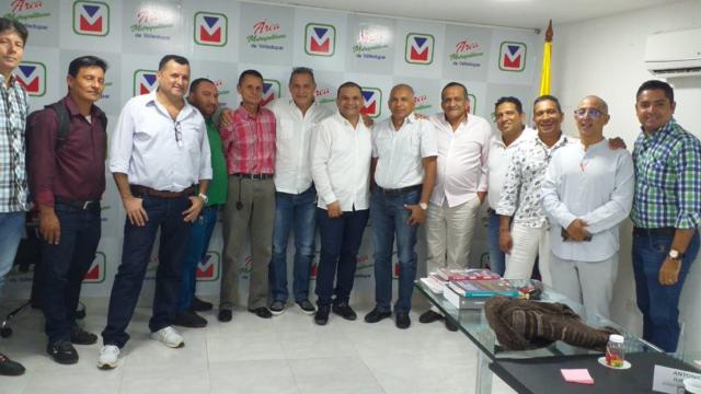 AMV se reune con Representantes del Gremio de Transporte Colectivo