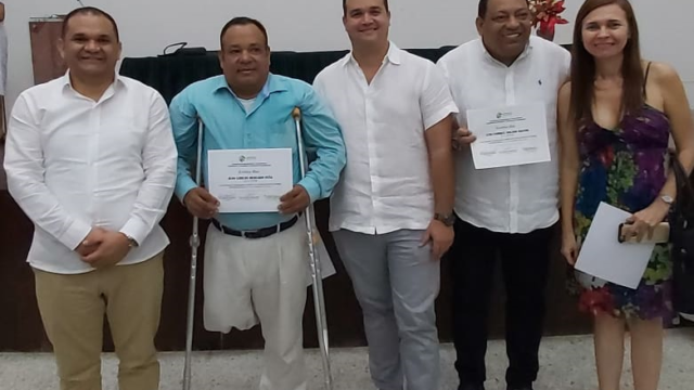Graduación de los 60 Beneficiarios del Laboratorio solar fotovoltaico