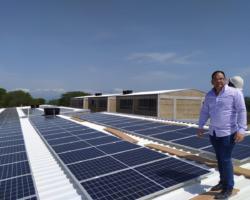 Instalación de Sistema Solar Fotovoltaico en la I.E. San José