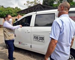 Visita de Inspección a Empresa de Transporte Colectivo Metropolitano en Manaure