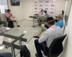 Empresas en proceso de habilitación visitaron al AMV