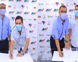 Área Metropolitana y Alcaldía de Codazzi firman convenio para apoyar la supervisión de la revisión general del PBOT