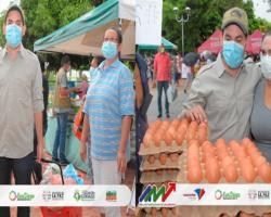 Mercado Campesino un éxito en Valledupar